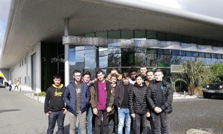 Les élèves Terminales Technicien d'Usinage