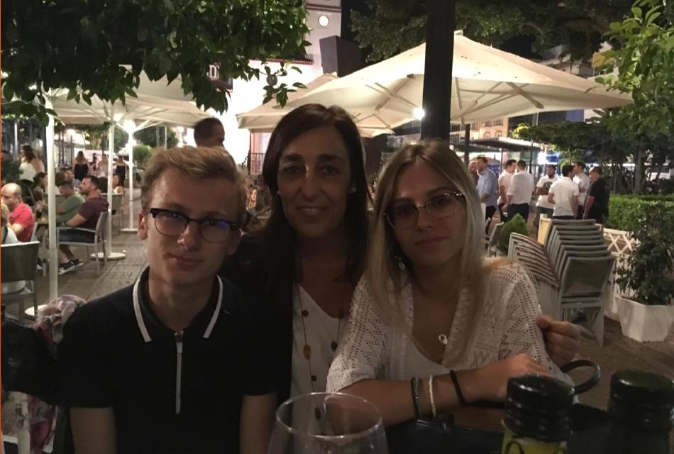 Nos stagiaires à Malaga