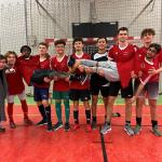 Félicitations à l'équipe de Futsal du lycée !