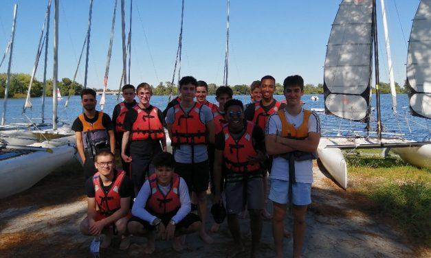Après-midi Catamaran pour les TTU du lycée Dassault