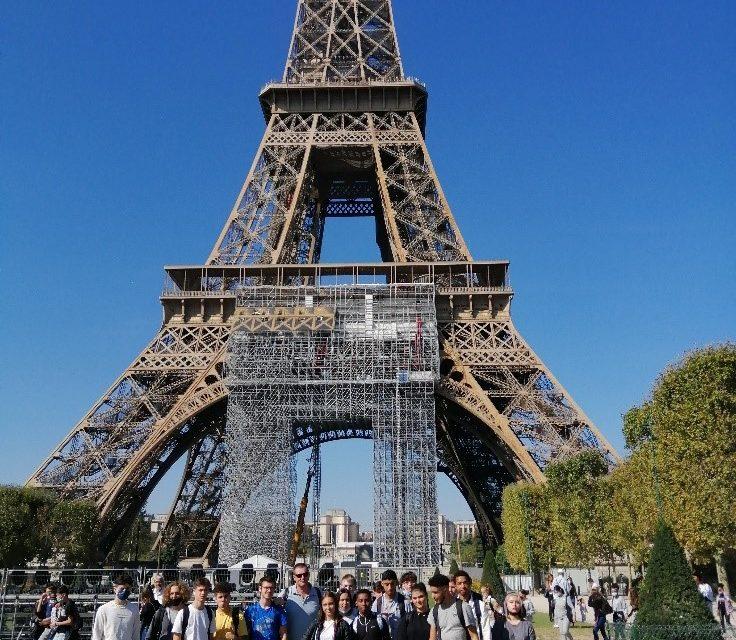 Journée Parisienne pour notre classe de  Terminale section européenne